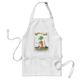 Delantal Zanahorias grandes de Yorkshire del amor