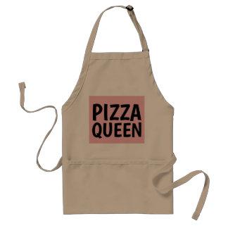 Delantales de la cocina de la REINA de la PIZZA