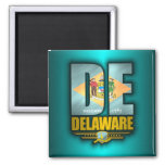 Delaware (DE) Imán Cuadrado