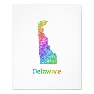 Delaware Folleto 11,4 X 14,2 Cm
