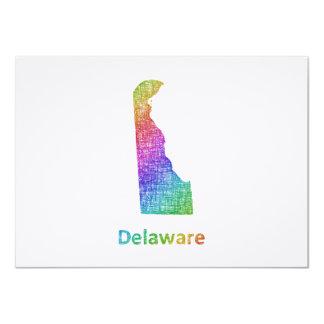 Delaware Invitación 11,4 X 15,8 Cm