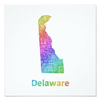 Delaware Invitación 13,3 Cm X 13,3cm