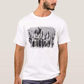Delegación de los jefes de Siux, llevada por la Camiseta