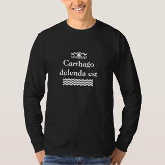 Delenda est de Carthago Camisetas