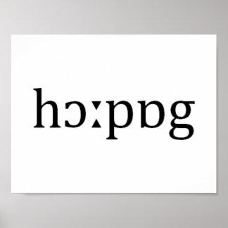 Deletreo fonético de Hauppauge Long Island Póster
