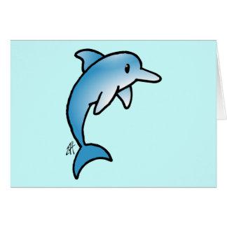 Delfín adorable felicitación