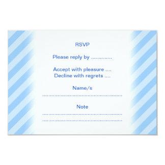 Delfín azul invitación 8,9 x 12,7 cm