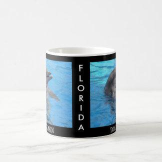 Delfín de la Florida Taza De Café