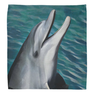 Delfín de risa bandana