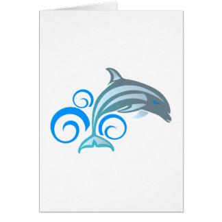 Delfín dolphin felicitacion