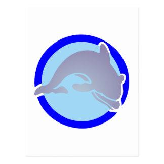 Delfín dolphin tarjeta postal