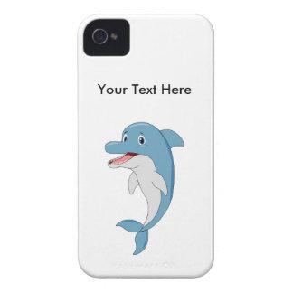 Delfín feliz carcasa para iPhone 4 de Case-Mate