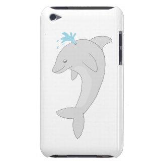 Delfín feliz lindo iPod touch cárcasa