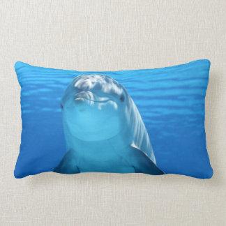 Delfín hermoso cojín lumbar
