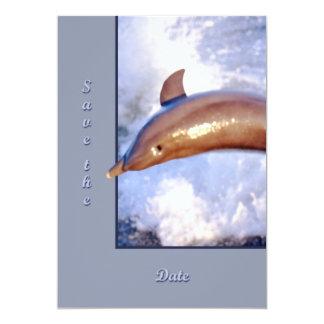 Delfín Invitación 12,7 X 17,8 Cm