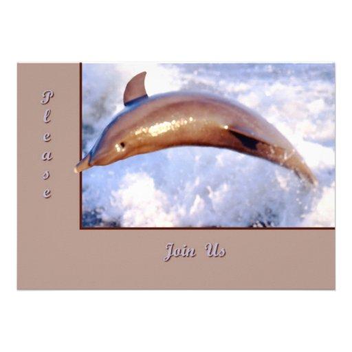 Delfín Anuncio Personalizado