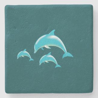 Delfín Posavasos De Piedra