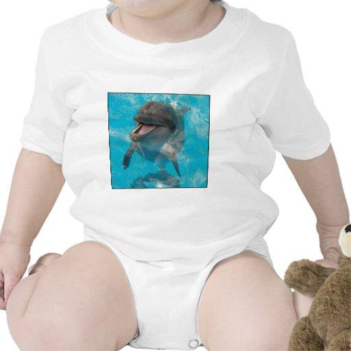 Delfín sonriente trajes de bebé