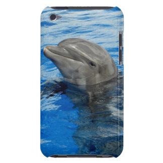 Delfín sonriente cubierta para iPod de barely there