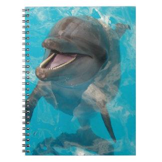 Delfín sonriente libro de apuntes