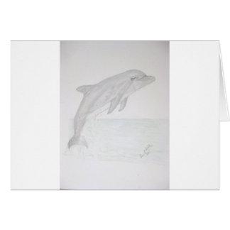 Delfín Tarjeta De Felicitación