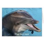 delfín, tarjeta