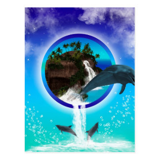 Delfín Tarjeta Postal