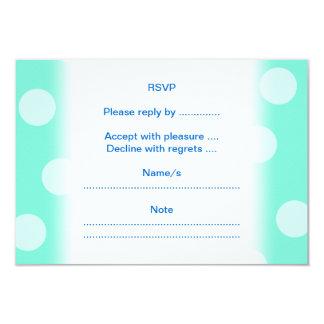 Delfínes azules invitación 8,9 x 12,7 cm