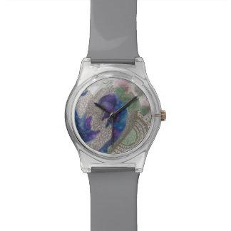 Delfínes caprichosos reloj de pulsera