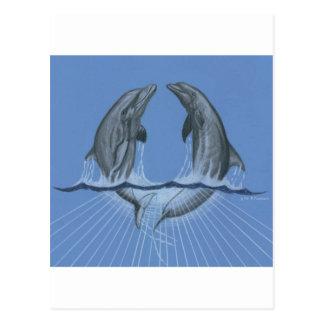 Delfínes del baile postal