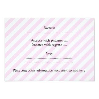 Delfínes rosados invitación 8,9 x 12,7 cm