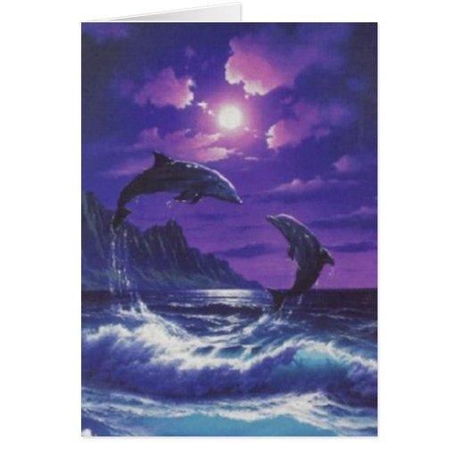 Delfínes Tarjetas