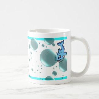 delfínes taza de café