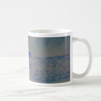 Delft-tipo escena taza de café
