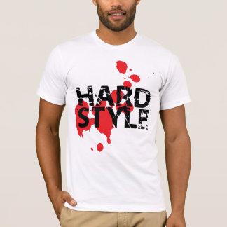 Delirio de la salpicadura de Hardstyle Camiseta