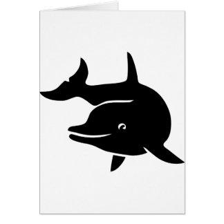 delphin delfin dolphin flipper whale tarjetón