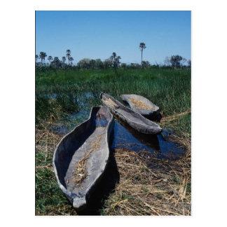Delta de Okavango de Mokoro, Botswana Postal