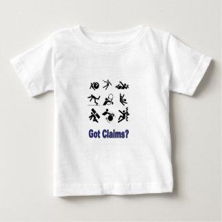 demandas del dolor camiseta de bebé
