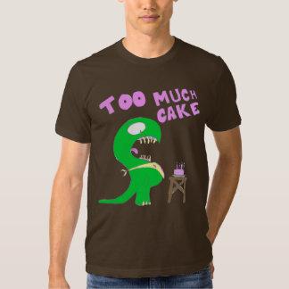 Demasiada torta camisas