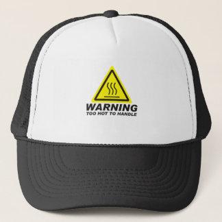 Demasiado caliente dirigir gorra de camionero