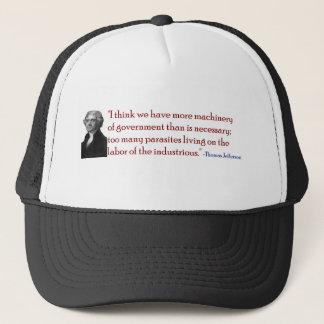 Demasiados parásitos - gorra de la cita de