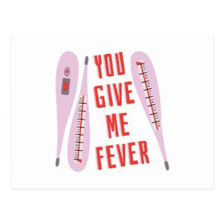 Déme la fiebre postal
