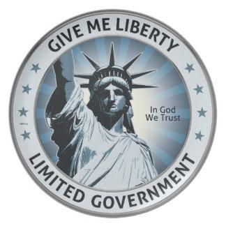 Déme la libertad plato de cena