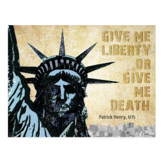Déme la libertad postal