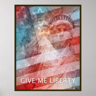 Déme la libertad posters