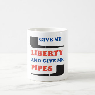 Déme la taza del fumador de tubo de la libertad