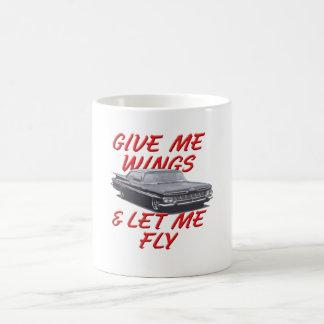 Déme las alas taza clásica