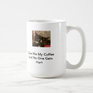 Déme mi café… tazas