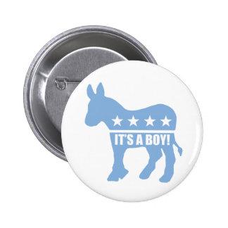 demócrata es pernos de un muchacho pins