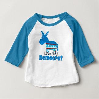 Demócrata futuro camiseta de bebé